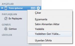 iphone-itunes-yedekten-geri-yukleme