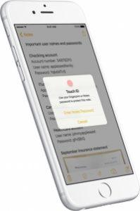 Notes iOS 9.3