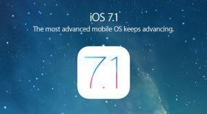 iOS 7.1 Yazılım Güncellemesi Yayınlandı