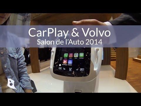 Volvo Yeni Araçlarında Apple CarPlay'i Test Ediyor.