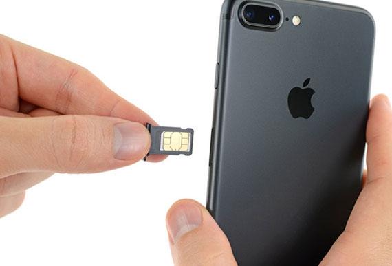 iPhone 7 Plus Sim Kart Kapağı Değişimi