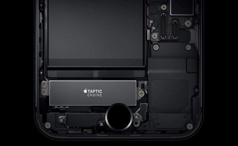 iphone ana ekran butonu taptic motor